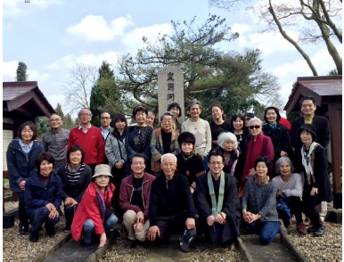 ヘンドン日本人墓地の清掃
